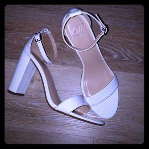 White heels D
